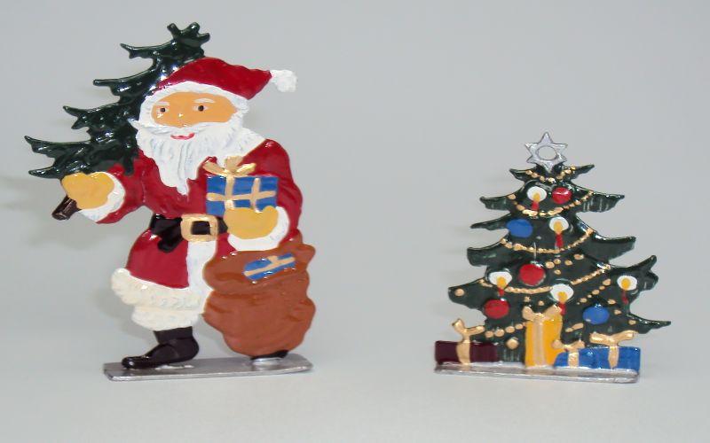 Nikolaus zum stellen mit Tannenbaum